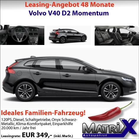 22.06.2016 Volvo V40 D2 Momentum*